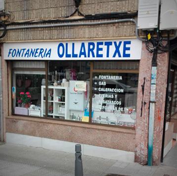 Fontanería Ollaretxe, tienda en Sopelana