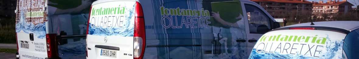 Vehículos Fontanería Ollaretxe